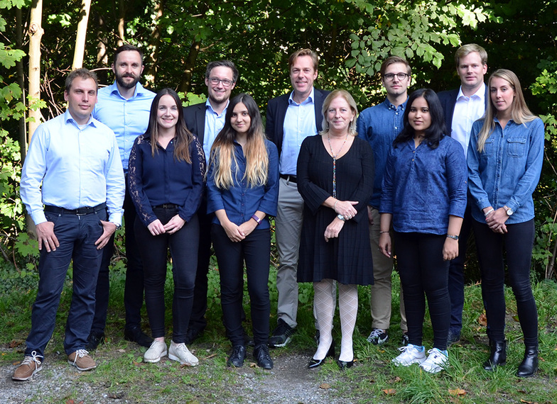 Teamfoto IWI - Abteilung Information Engineering